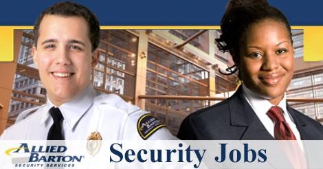 Allied Barton Security Jobs