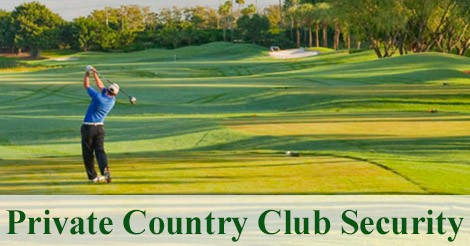 Security Job Alert: Exclusive Private Country Club Security ($18.00 an Hour)