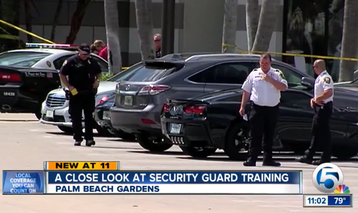Florida Armed Security Officer Shoots Warning Shot