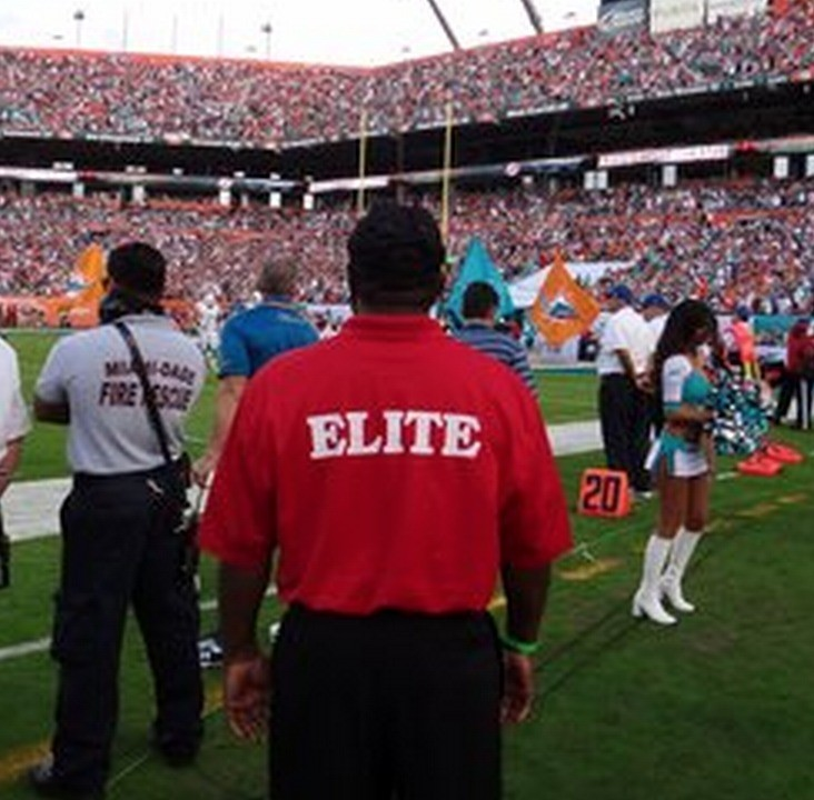 Hiring! Security for Miami Dolphin & Hurricanes Games