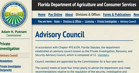 Invictus President Appointed to the Florida Security Advisory Council (PIRSAC)