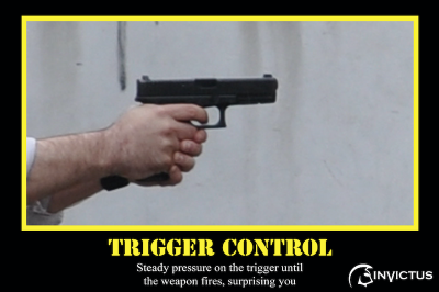 Armed Security Training-Trigger Control