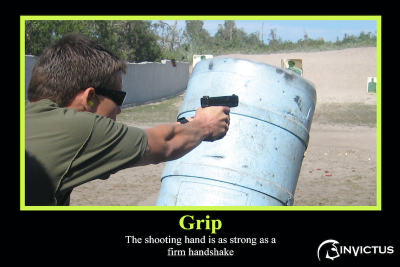 Armed Security Training-Grip