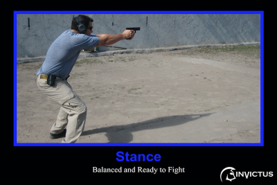 Armed Security Training-Stance