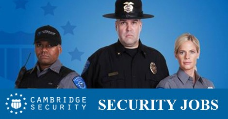 Security Job Alert: Cambridge Security Jobs